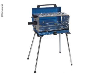 Case gas grill 200SGR, 50mbar, 3 flames, for butanepropane