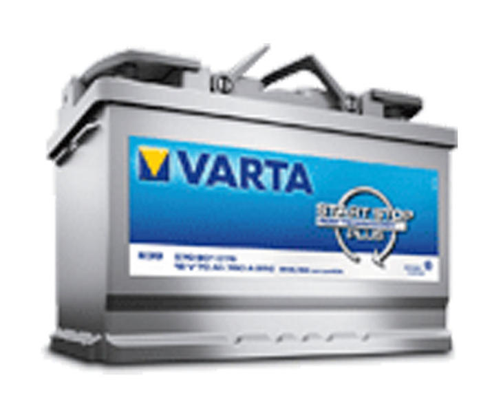 varta professional agm 70ah 813421 agm batterie 12v. Black Bedroom Furniture Sets. Home Design Ideas