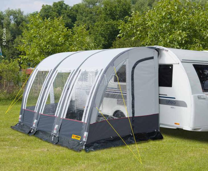 Caravan Annex Tent Rimini Air 390 With Quick Set Up Frame