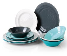 Melamine Servies Camping