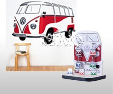 Decoratie & Muurstickers Camping